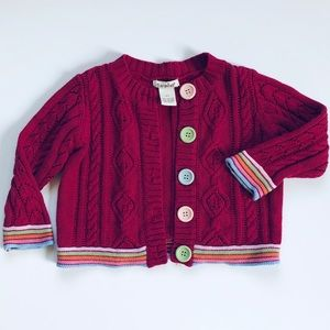 Savannah cardigan size 2T